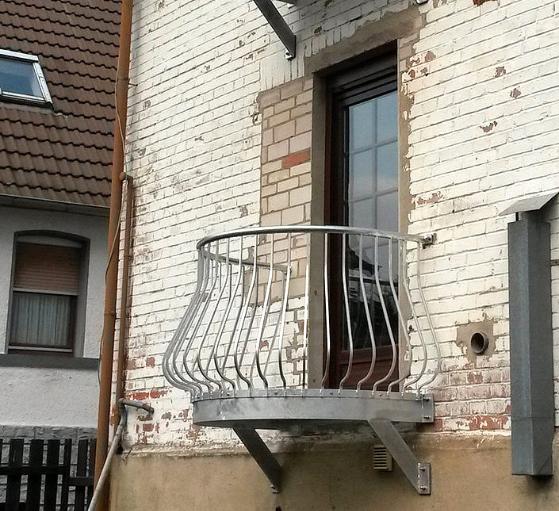 Französischer Balkon in klassischer Optik