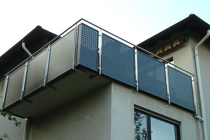 Metallbau Lerch Leistungen Service Balkon Gelander